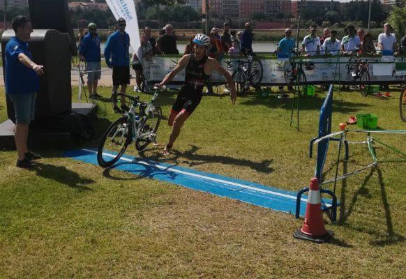 cronometraje transicion- campeonato españa triatlon Badajoz